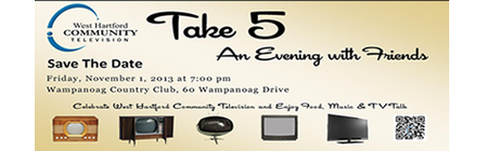 Take 5 - An Evening with Friends   to benefit WHC-TV