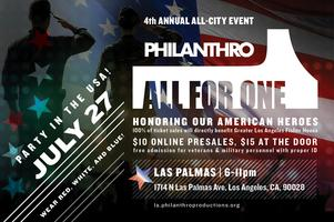 Philanthro 4th Annual All-City - All for One: Party in...