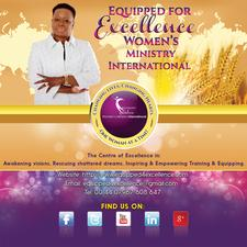 Equipped for Excellence Women's Ministry International logo