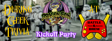 Dragon*con Kickoff Party