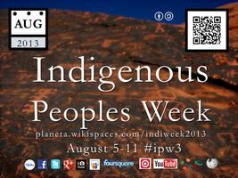 Indigenous Peoples Week