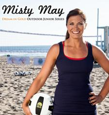 Dream in Gold Clinics by Misty May Treanor logo