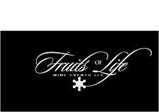 Fruits's Of Life Wine Events, LLC/THE DMV WINE LADY logo