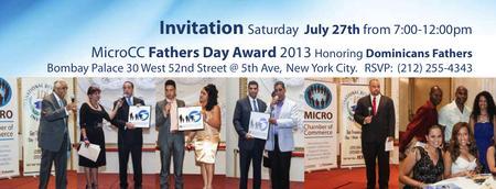 MicroCC  & Bombay Palace Celebrate Fathers Day Award...