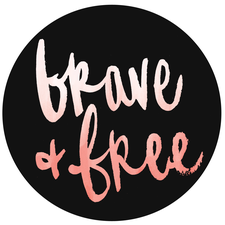 Brave & Free Conference logo