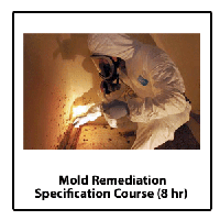Mold Remediation Specification Call To Register...