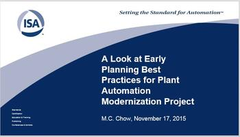 November 2015 Technical Meeting