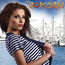 The Boatonian logo