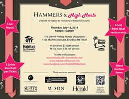 Hammers and High Heels: A Benefit for the HFHWC Women...
