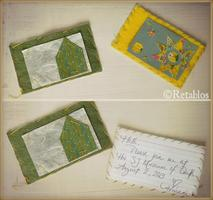 Etsy Meet & Make: Fiber Salon - Felt Note Cards with...