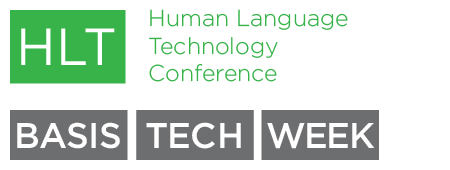 2013 Human Language Technology Conference (event is...