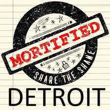 Mortified DETROIT logo