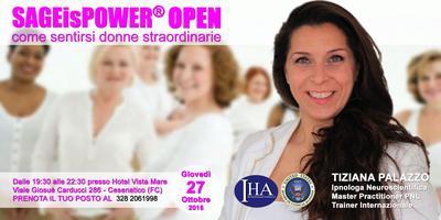 SAGEisPOWER® Open 27 Ottobre 2016