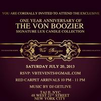 VON BOOZIER EXCLUSIVE RED CARPET EVENT
