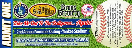 Take Me Out To The Ballgame... Again!! 2nd Annual...