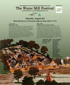 Water Mill Festival logo