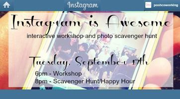 Backstage Pass to Instagram Workshop