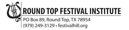 Round Top Music Festival July 1, 2012
