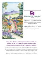 Pardon My Garden Club Tour, Ornamental & Edible...
