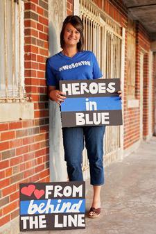 Heidi Hogan, Badge of Hope Ministries Board Member & Police Wife logo