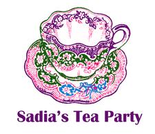 Sadia's Tea Party logo