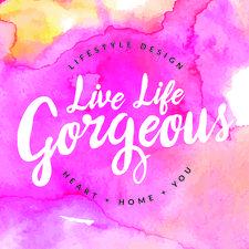 Live Life Gorgeous  logo