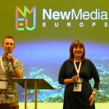 New Media Europe logo