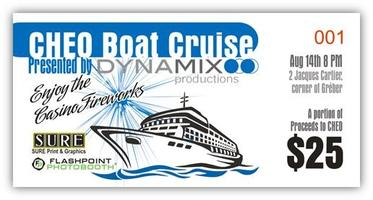 Boat Cruise to Benefit CHEO
