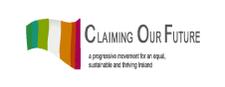 Claiming our Future logo