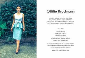 Ottilie Brodmann White Linen Trunk Show