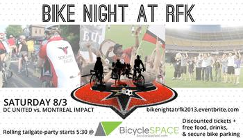 Bike Night at RFK with DC United