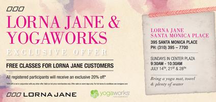 Lorna Jane + YogaWorks