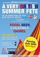 Brits in LA present A VERY BRITISH SUMMER FETE
