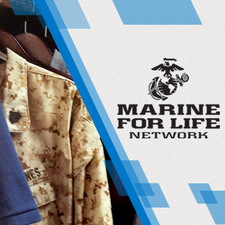Master Sergeant Heydo Zando, U.S. Marine Corps Reserve logo
