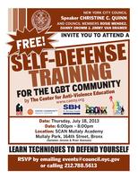 Bronx LGBTQ Self-Defense Training