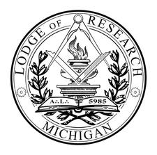 Michigan Lodge of Research & Information No. 1, F. & A.M. logo
