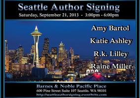 Seattle Author Signing