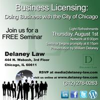 Business Licensing: Doing Business in Chicago