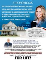 NATIONAL REAL ESTATE INVESTMENT/ INCOME OPPORTUNITIES