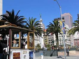 Union Square & Cable Car Ride