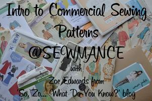Intro to Commercial Sewing Patterns