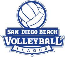 San Diego Beach Volleyball League logo