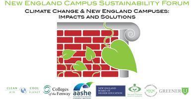 2013 New England Campus Sustainability Forum