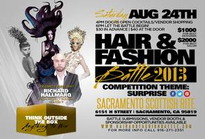 Hair & Fashion Battle Expo.Tickets Will Be Sold At The...