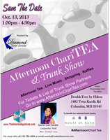 Exhibitor - Afternoon ChariTEA & Trunk Show (October...