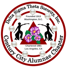 Delta Sigma Theta Sorority, Inc. Century City Alumnae Chapter logo