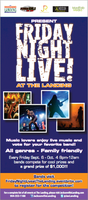 Friday Night Live at The Landing