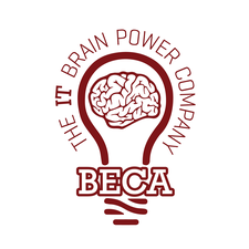 BECA | The IT Brain Power Company logo