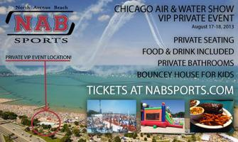 Chicago Air and Water Show: VIP Viewing Party 8/18/13