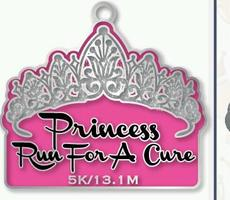 Princess Fun Run for a Cure Virtual Race